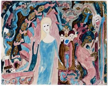 Πάουλ Γκες «Φαντασία» (από την έκθεση Ψυχασθενών-θυμάτων του ναζισμού)